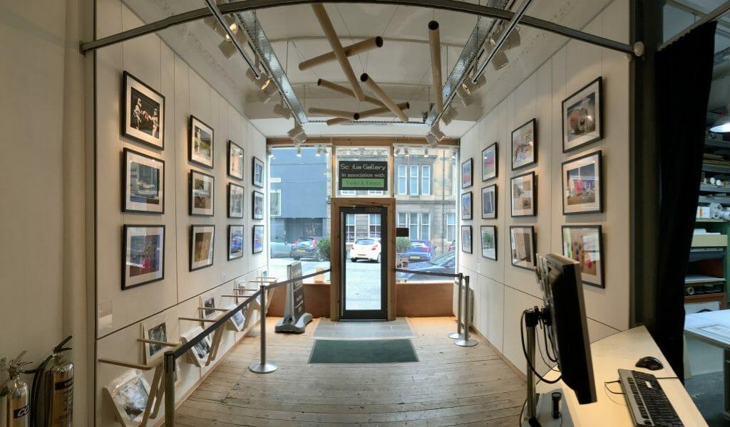 David Gilliver at Scotia Gallery