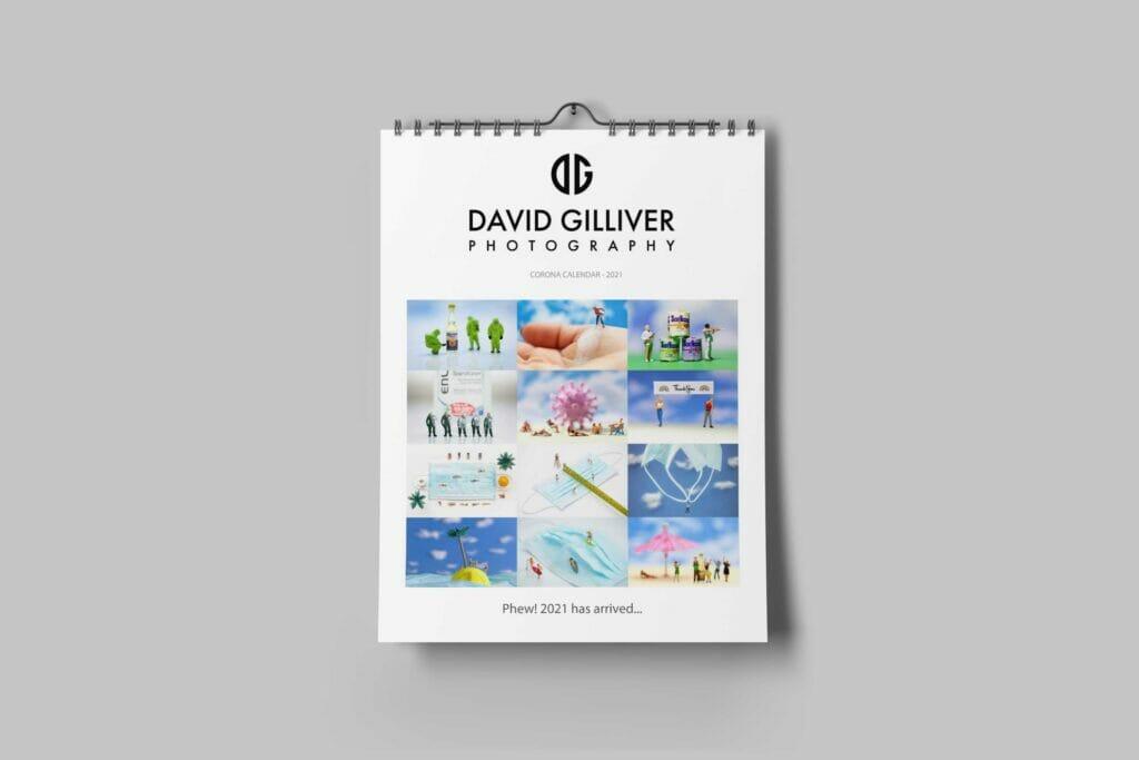 David Gilliver Corona Calendar 2021